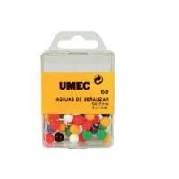 UME C.30 PUSH PINS 7X22 COL.SURTIDO 010A