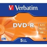 DVD -R VERBATIM 4,7GB