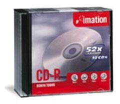 CD-R IMATION 700MB 80MIN. X52