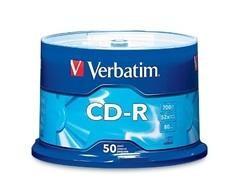 BOBINA 50 CD-R 52X 700MB