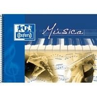 ENRI LIBRETA DE MUSICA CON ESPIRAL 215X155 MM 20 HOJAS. 90 GRAMOS REF. 142020