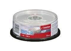 DVD+R IMATION 4,7GB SPINDLE PACK25