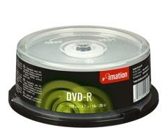 DVD-R IMATION 4,7GB SPINDLE PACK25