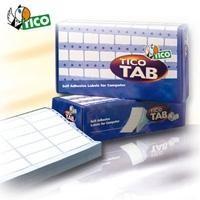 TIC ETIQ CONTINUO IMPR.MATRIC TAB1-1074