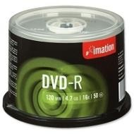 IMATION DVD-R SPINDLE PACK 50