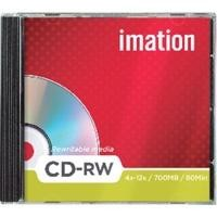 IMATION  10 CD-RW 1-4X JEWEL CASE REF. 19001CANON LPI INCLUIDO