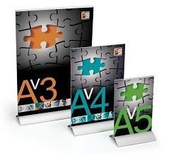 PORTACARTELES DIN A4 PC/AL/A4V