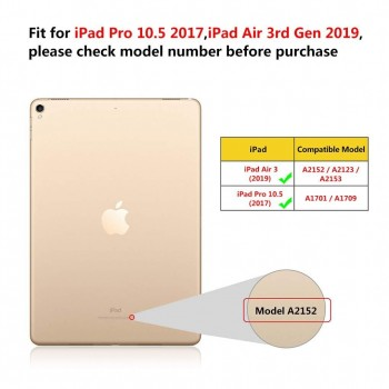 FUNDA TECLAT IPAD AIR 3 IPAD 2019 PRO 10.5 2017
