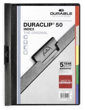 CARPETA DURACLIP 2234 NE C/INDICE