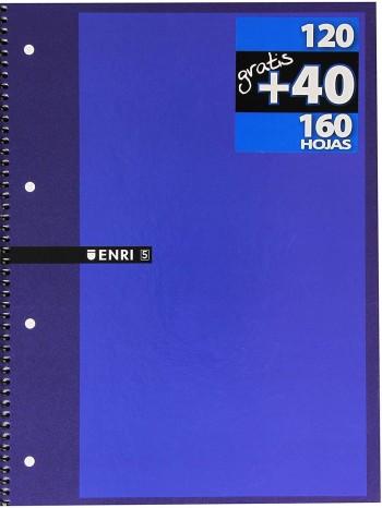 LLIBRETA ENRI A4 120+40 FULLS