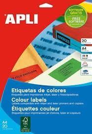 APL B20H ETIQ COLORES AZ105X37 01596