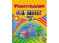 CAJA PLASTIDECOR 6 COLORES