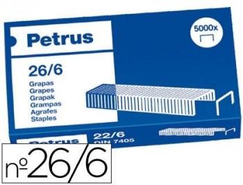 PETRUS C.5000 GRAPAS OFICINA 26/6 COBREADA  REF 55712