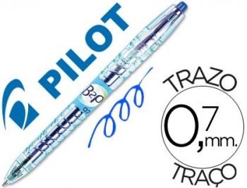BOLIGRAF PILOT B2P RETRACTIL BLAU