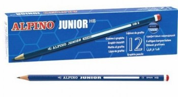 CAJA 12 LAPICES ALPINO JUNIOR HB
